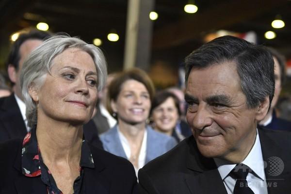 最有力候補のフィヨン氏、家族への不正給与疑惑で窮地に 仏大統領選
