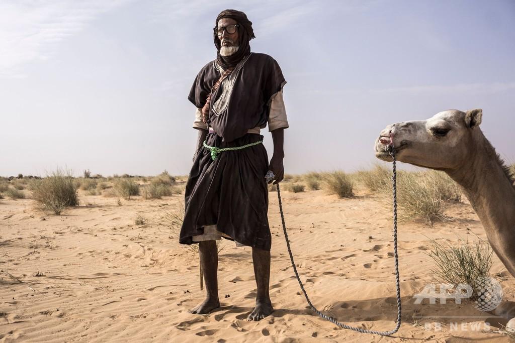 財産持たず狩りで生きる砂漠の民、干ばつで変わる暮らし モーリタニア