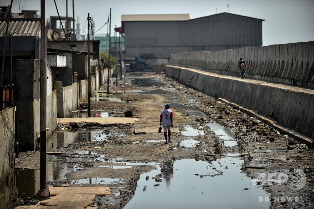 沈みゆく首都…災害の危機に直面するジャカルタ