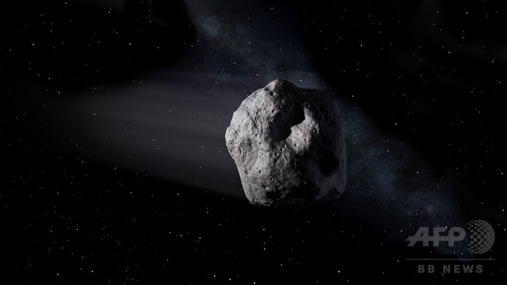 過去最大級の小惑星、9月1日に地球接近