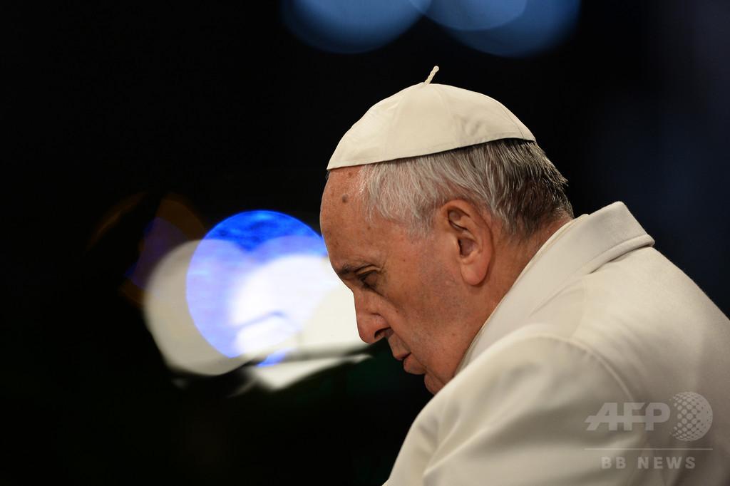 「祈祷中に居眠りすることも」ローマ法王が告白