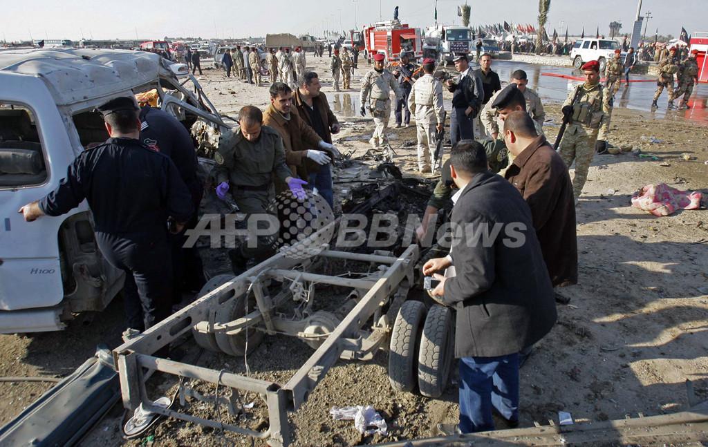 イラクで連続爆弾攻撃、シーア派信者ら50人死亡