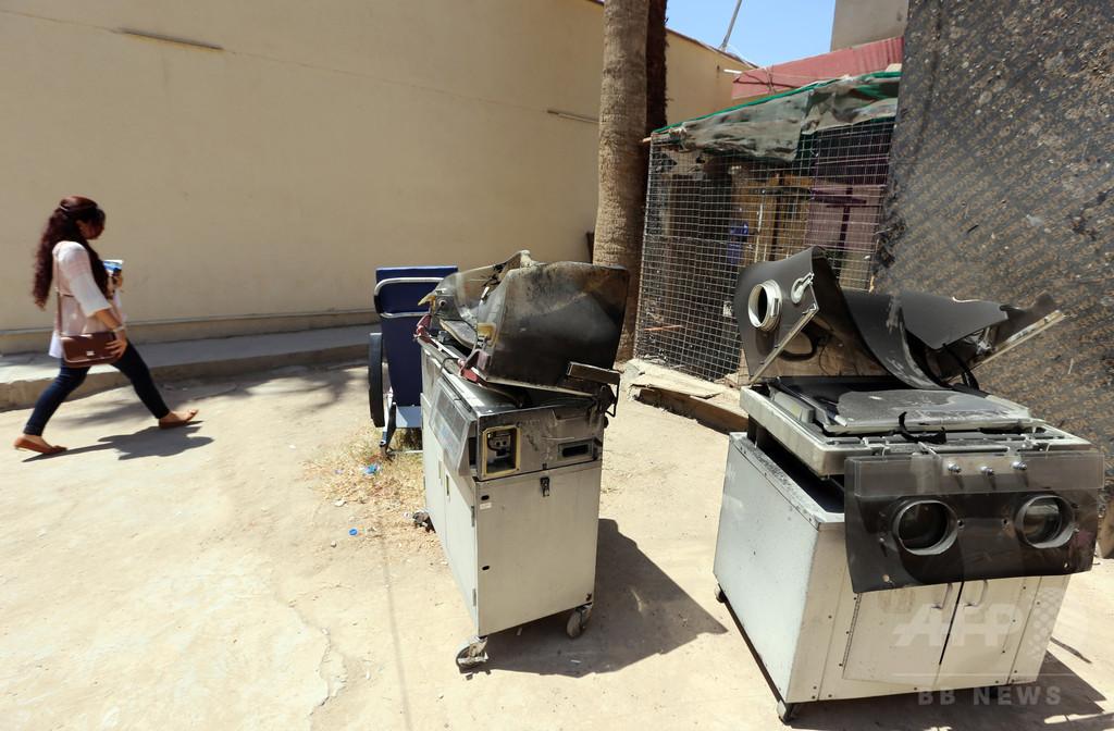 バグダッドの病院で火災、新生児12人死亡 電気系統が故障か