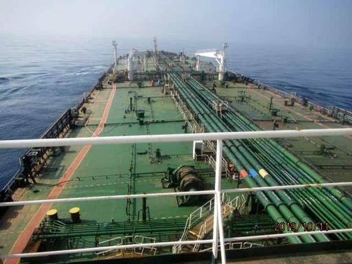 サウジ沖でイランのタンカーが爆発、ミサイル攻撃の可能性も