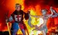 スペインの火祭り「ファリャス」、トランプ米大統領の人形登場