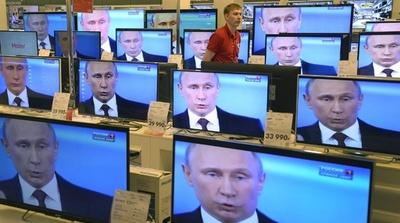 露テレビ特番、スノーデン元職員の質問にプーチン大統領が答える