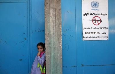 パレスチナなどで国連運営の学校再開、米の拠出金削減で先行き不安