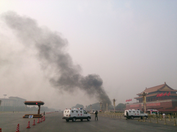 中国、「テロ事件」で8人の死刑を執行 天安門広場突入事件など