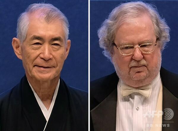 2018年のノーベル医学生理学賞、本庶佑氏ら2氏に