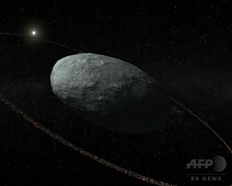 太陽系の準惑星「ハウメア」に輪、通説覆す発見 研究 写真1枚 国際 ...