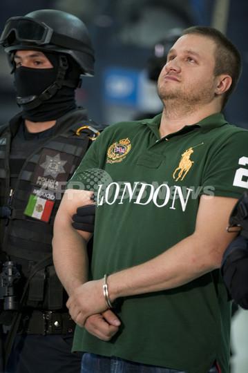 麻薬カルテルの大物を拘束、メキシコ