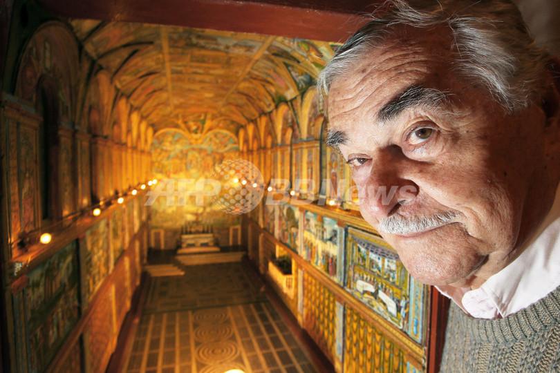 システィーナ礼拝堂の精巧な模型、制作時間は5千時間