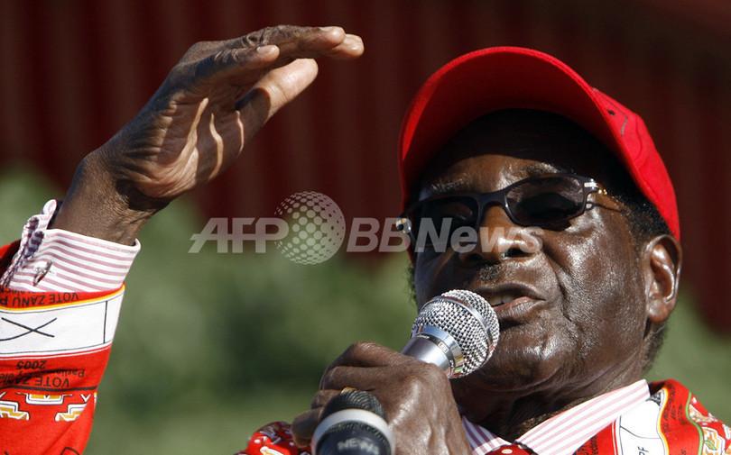 ジンバブエ大統領選、決選投票始まる