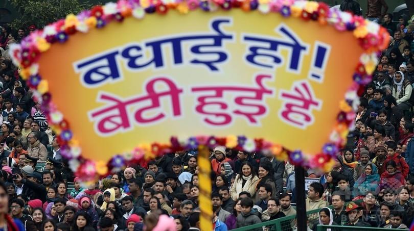 インド、「望まれない女児」は推定2100万人 根強い男児偏重