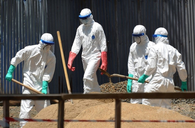 マリで初のエボラ感染者を確認、2歳女児に陽性反応