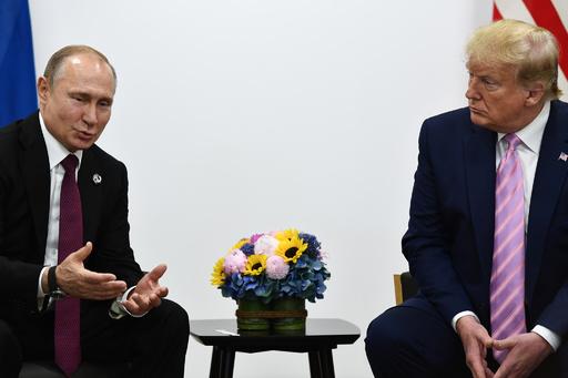プーチン大統領、トランプ大統領に謝意 「テロ行為」の阻止協力で