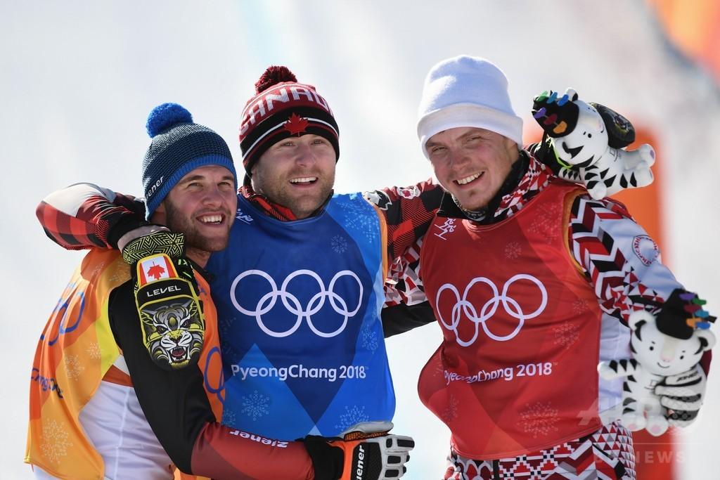 クラッシュ続出の男子スキークロス、リーマンが金 平昌五輪