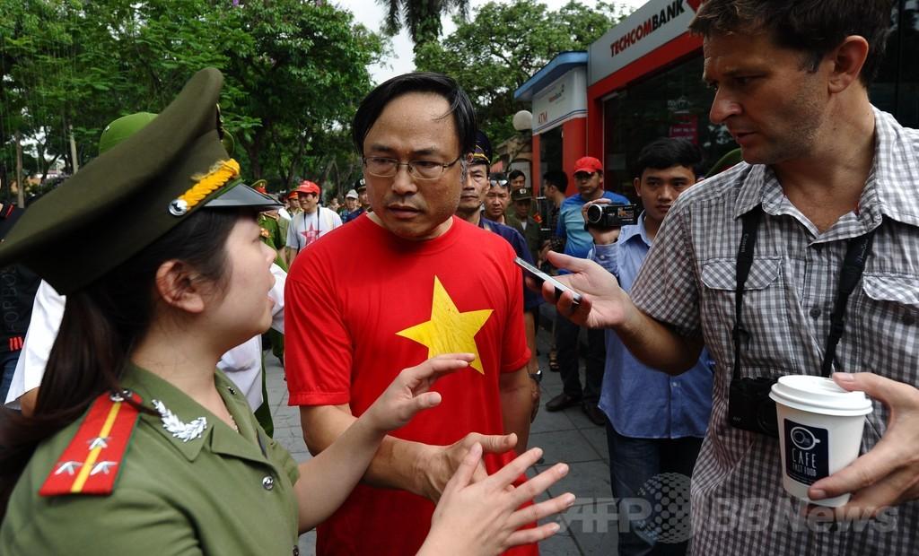 反中デモを受け中国人3000人以上が出国、ベトナム