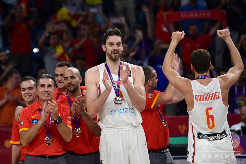 パウ・ガソルがバスケW杯欠場、スペイン代表に「大きな痛手」