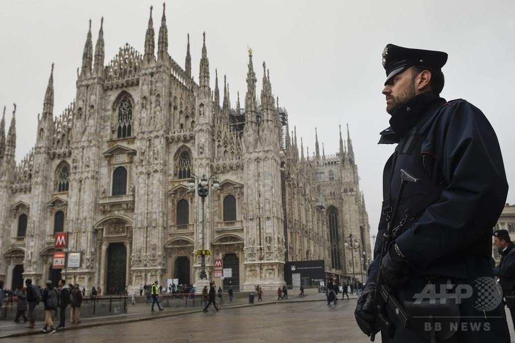 イタリア人気観光地、テロの標的か 容疑者5人を追跡中