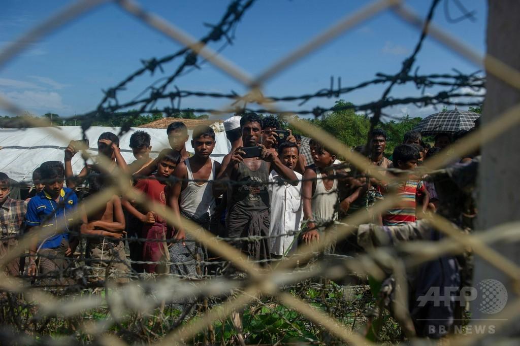 帰還を恐れるロヒンギャ、トランジットキャンプの利用者わずか ミャンマー