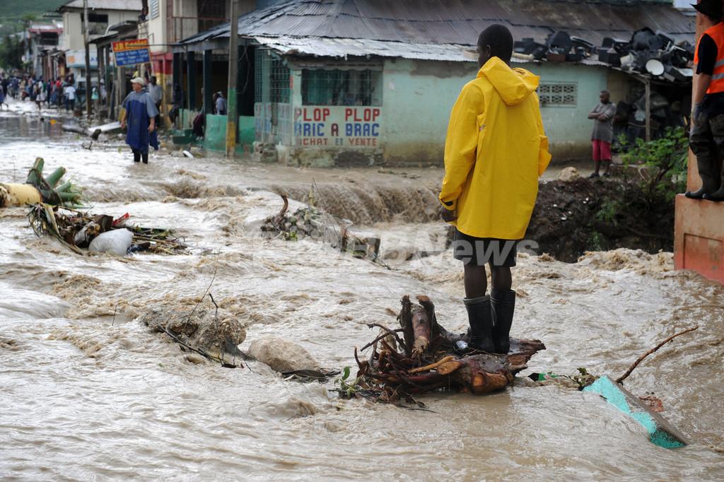 4つの大型ハリケーンで打撃受けるハイチ