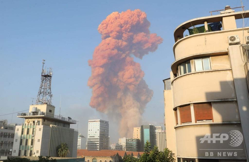 レバノン首都で2度の大爆発、73人死亡 数千人負傷