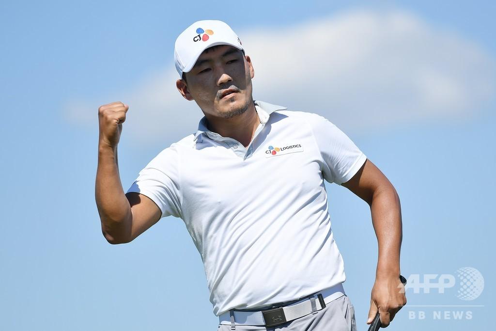 韓国のカンが初優勝、159戦目で悲願 AT&Tバイロン・ネルソン