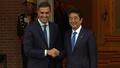 動画:安倍首相、スペインのサンチェス首相と会談