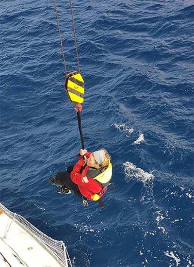 世界一周ヨットレースの女性参加者が遭難、南極海で無事救助