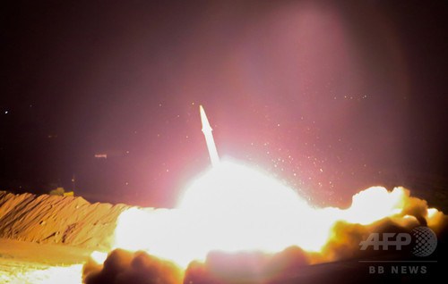イランがシリアにミサイル攻撃 「テヘラン襲撃への報復」