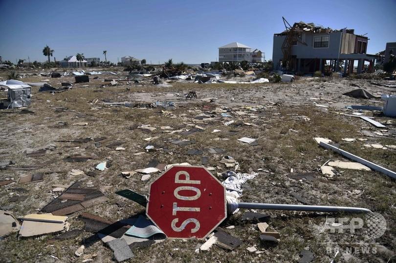 ハリケーン「マイケル」、米南部の死者13人に さらに増加の恐れ