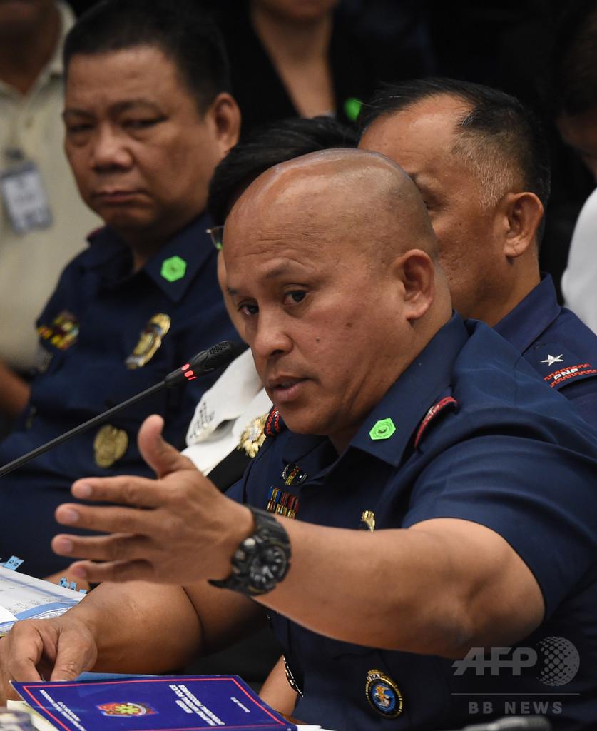 フィリピン警察長官、麻薬撲滅作戦での容疑者殺害に「差別なし」