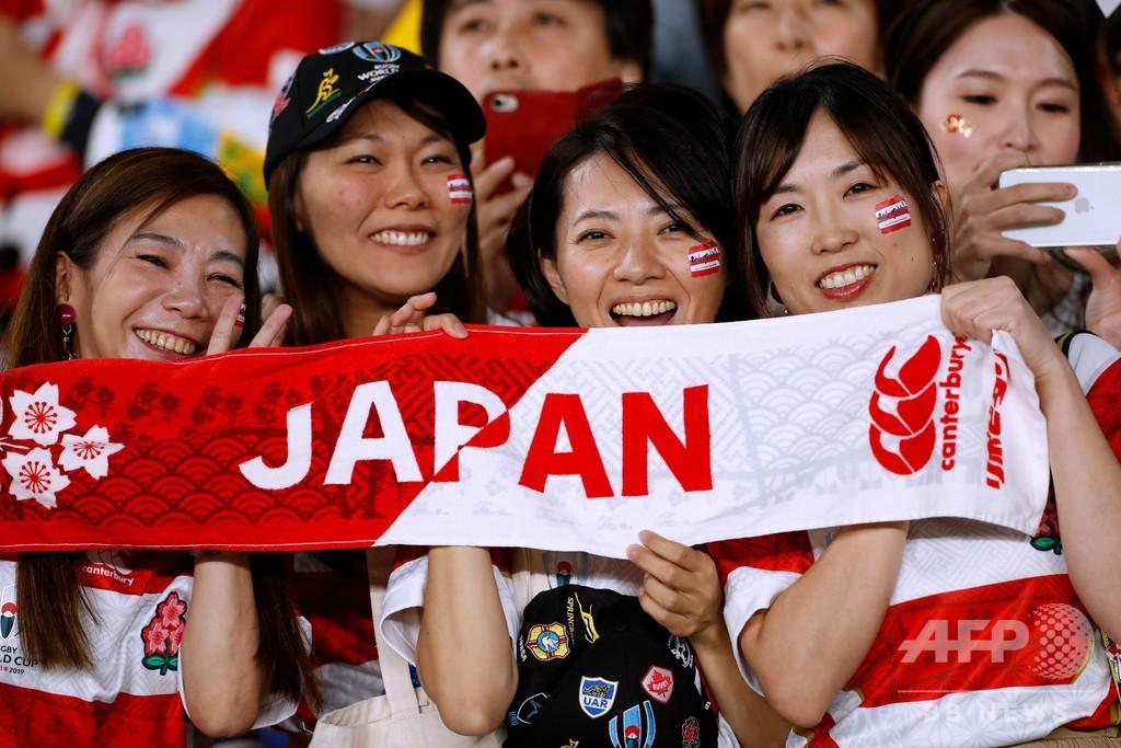 【写真特集】ラグビーW杯日本大会を彩るサポーター