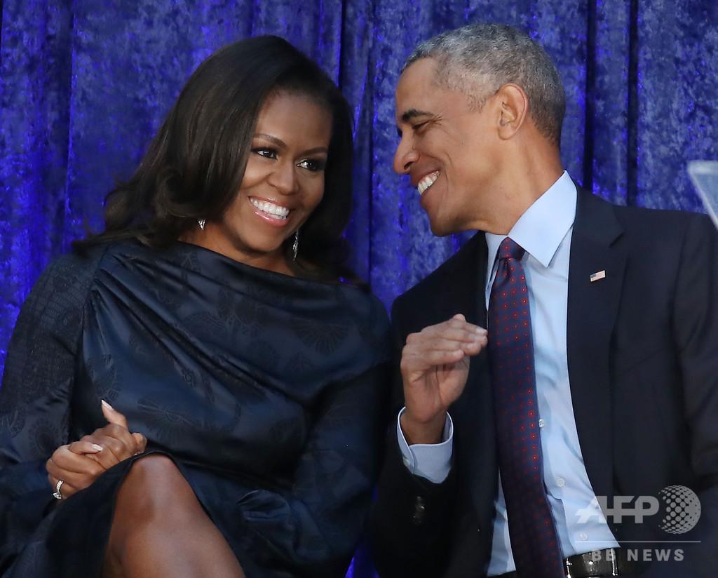 「最も尊敬する男女」にオバマ夫妻、トランプ大統領は4年連続2位