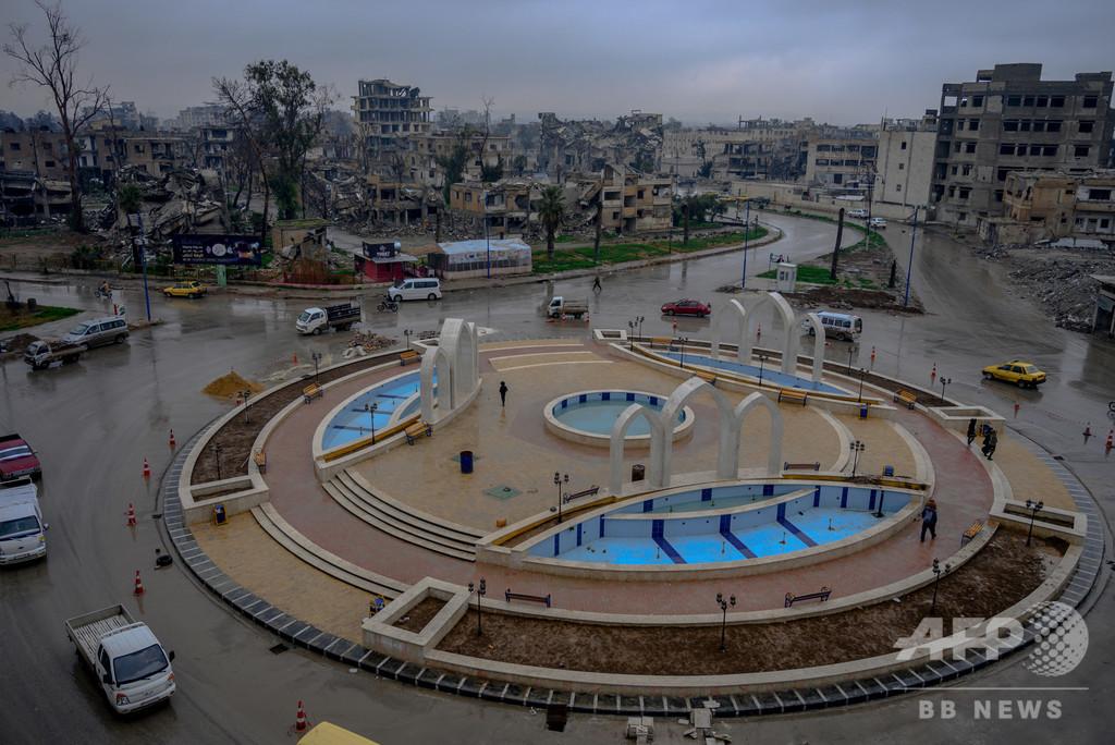 シリア北部ラッカで自動車爆弾攻撃、10人死亡 ISの旧「首都」