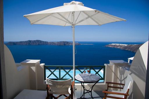 世界一ロマンチックなホテルはギリシャに、トリップアドバイザー