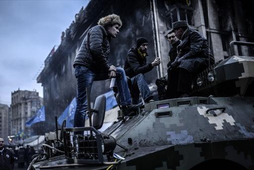 ウクライナ特殊部隊を解散、まもなく暫定内閣発表