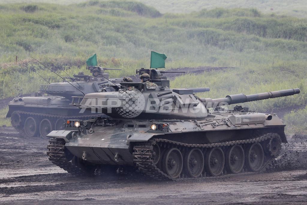 陸上自衛隊の火力演習、東富士演習場