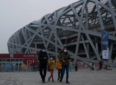 爆竹禁止措置の効果あり 春節期の北京市のPM2.5平均濃度、前年比で半分に