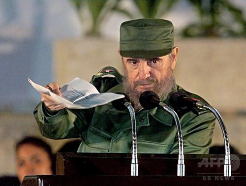 フィデル・カストロ前国家評議会議長死去、各国指導者の反応