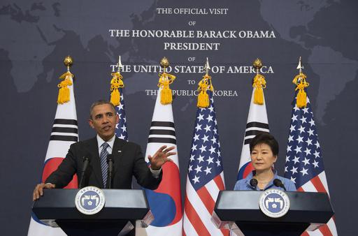 オバマ米大統領、韓国で慰安婦に言及 「著しい人権侵害」