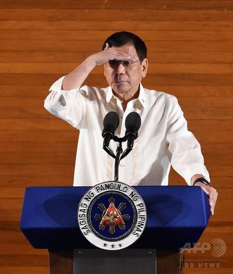 フィリピン大統領、「麻薬に関与」の政治家ら160人以上を名指し