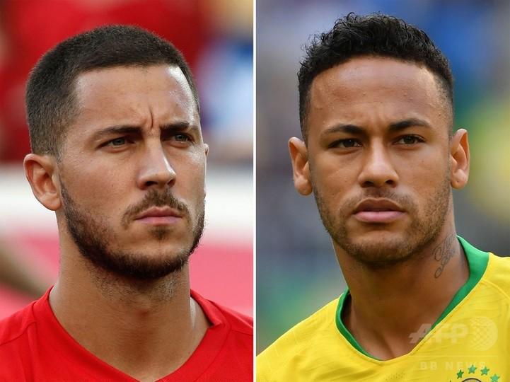 ブラジル対ベルギーの先発メンバー発表、マルセロが復帰