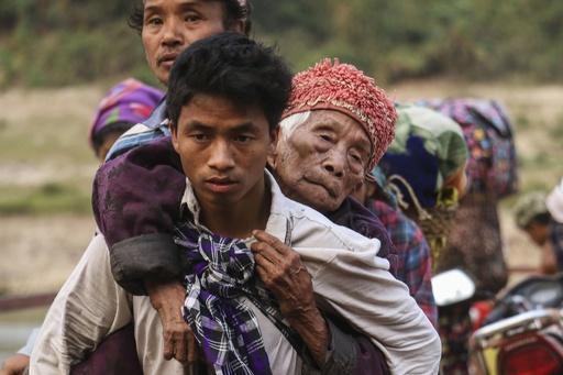 ミャンマー北部で軍と武装勢力が衝突、数千人が避難 国連