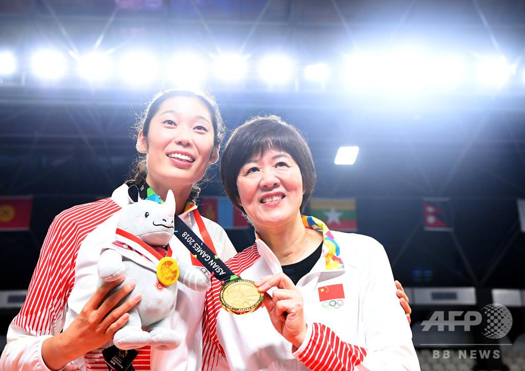 金ラッシュの中国女子バレー、快進撃のカギとなった日本人