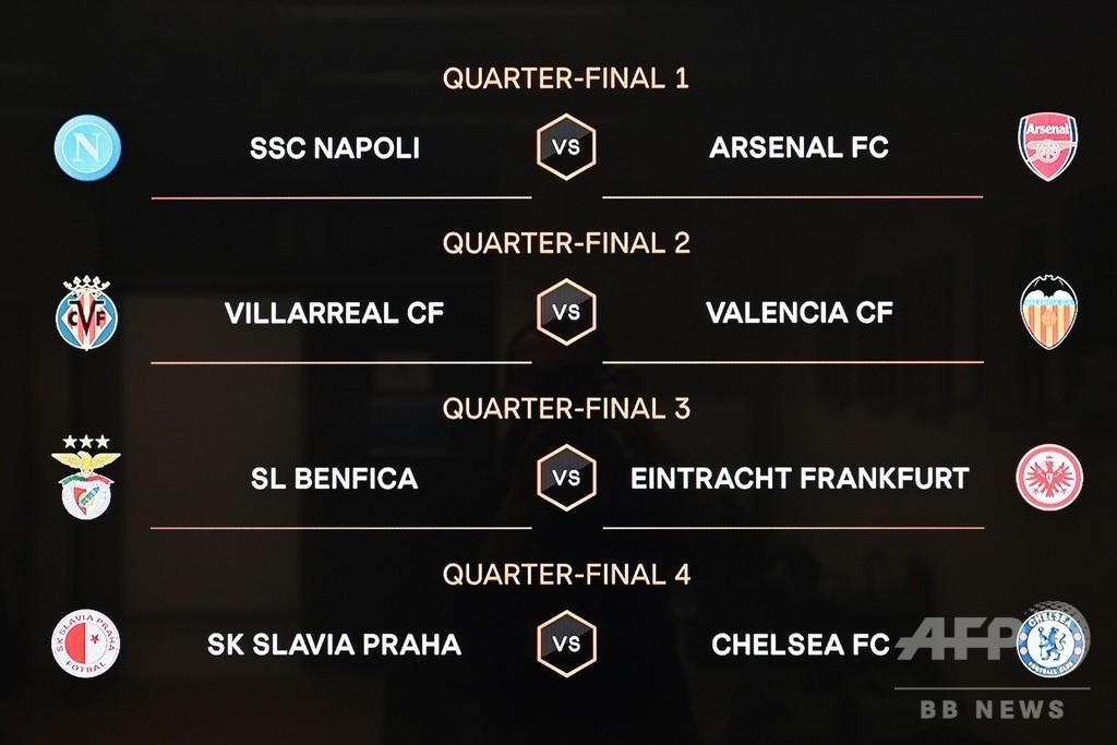 EL準々決勝の組み合わせ決まる、アーセナルがナポリと激突 写真3