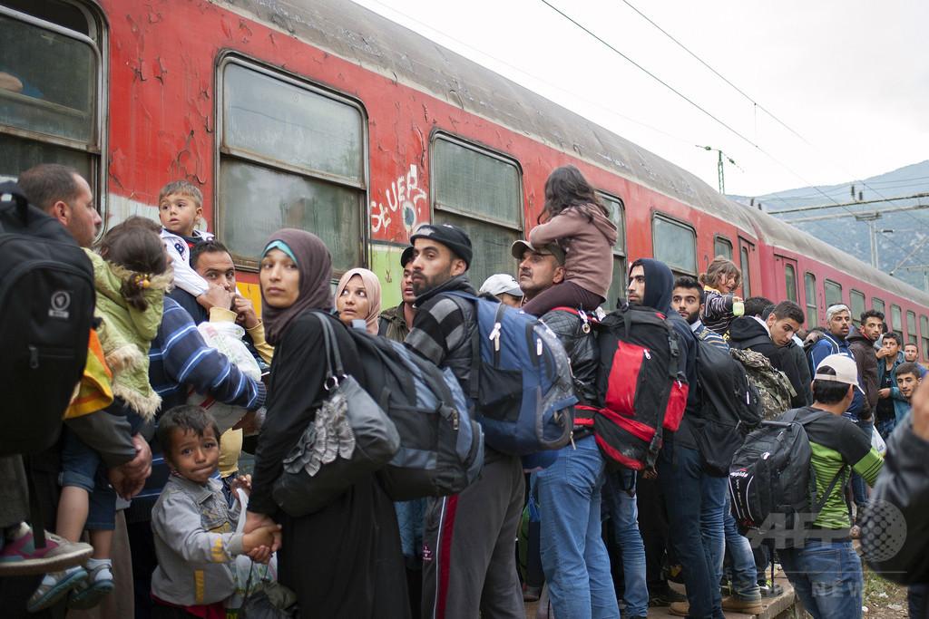 AFP、難民写真の不当使用で仏ベジエ市長を提訴