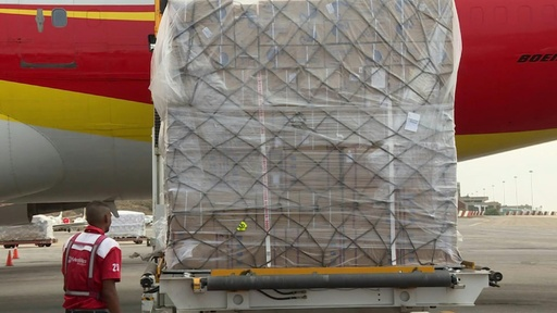 動画:中国からの医薬品と医療用品65トン、ベネズエラに到着