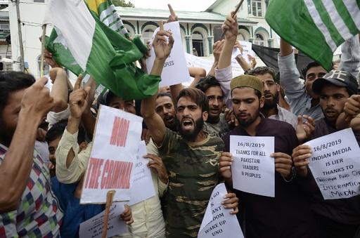 国連安保理がカシミールめぐり会合 インドは介入にいら立ち